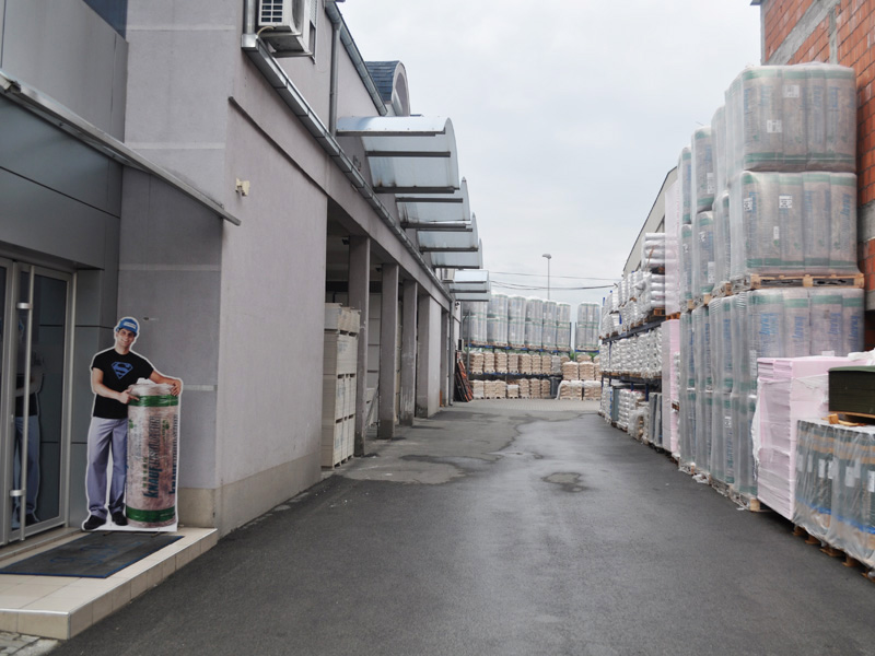 Stovarište građevinskog materijala preduzeća Joter u Kruševcu