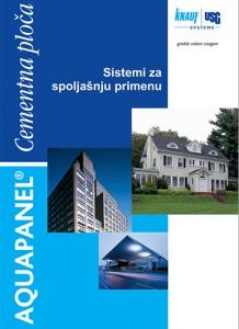Knauf Aquapanel brošura