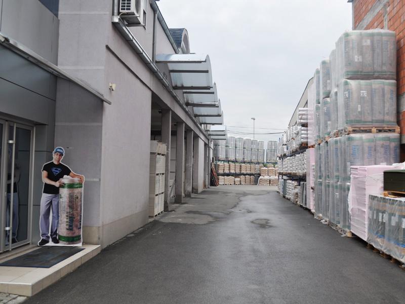 Stovarište preduzeća Joter d.o.o. u Kruševcu