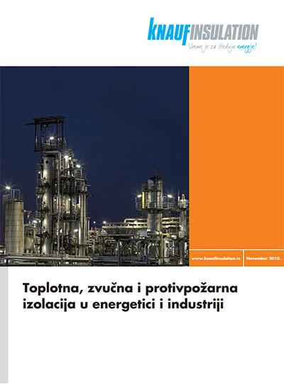 Toplotna, zvucna i protivpožarna izolacija u energetici i industriji