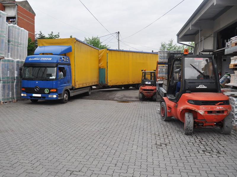 Transport robe preduzeća Joter d.o.o. u Kruševcu