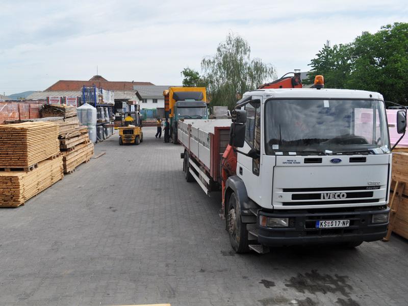 Transport građevinskog materijala Joter d.o.o. u Nišu