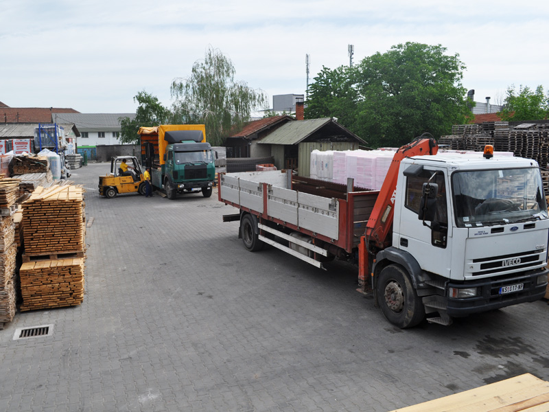 Transport građevinskog materijala Joter d.o.o. u NišuTransport građevinskog materijala Joter d.o.o. u Nišu