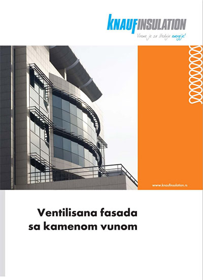KNAUF INSULATION Ventilisana fasada