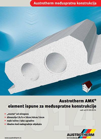Austrotherm međuspratna konstrukcija