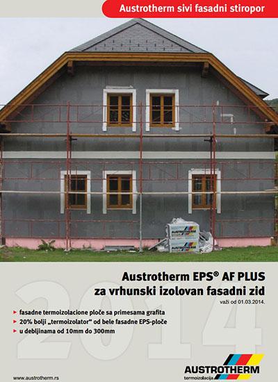 Austrotherm sivi fasadni stiropor