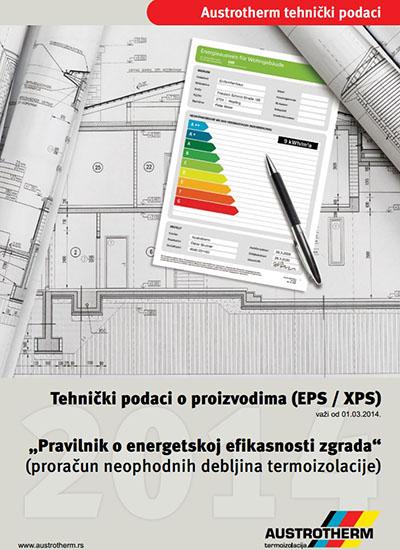 Austrotherm tehnički podaci