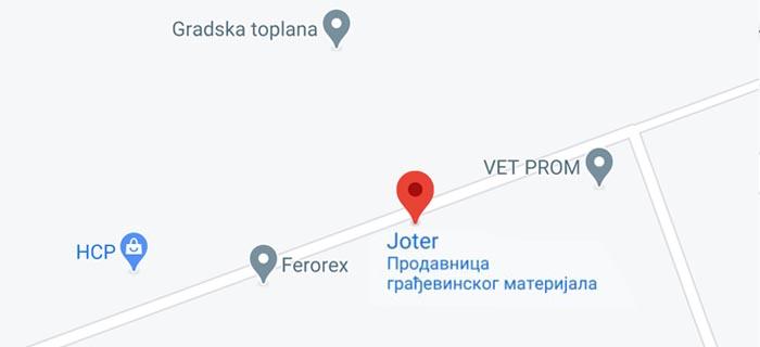 Joter Kruševac Stovarište